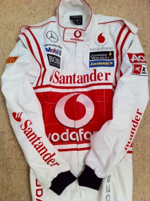 MCLAREN F1 KART RACE SUIT -  LEVEL 2 FIA APPROVED
