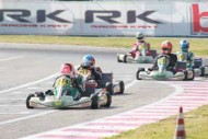 wsk master series round k2 sarno for the friday track s power laps alredy crushed