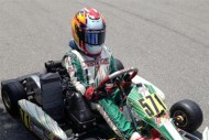 aaron bass has successful close to florida karting championship series