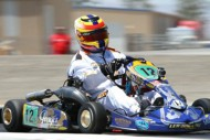 leading edge motorsports victorious at california prokart challenge