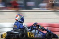 three drivers the top k10 of the wsk euro series
