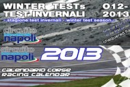 presentation winter test and race calendar k2013