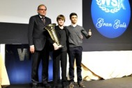at the wsk gran gala montichiari italy cik fia vice president kees van de grint and f k1 ex driver jean alesi were the special guests at the award ceremony for the season k2012