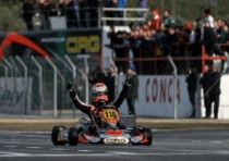 crg ok at conca with verstappen who dominates the wsk master series kz2