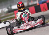 dominic tesoro starts off k2013 karting season with podium