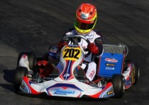 iame two podiums at the wsk master series k2013