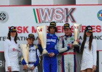 parker thompson podiums european kfj debut