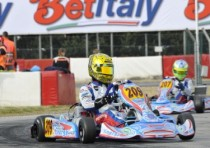 muro leccese italy the first appointment of the wsk master series of karting