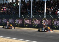another victory for crg with max verstappen kz1 the opening race conca for the wsk euro series