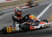 crg spainin zuera with its whole official team for the second round of the wsk euro series