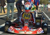 russell opens wsk account with win