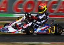 iame one podium and many good results at the wsk euro series