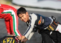 muizzuddin musyaffa at the top the second round of the wsk master series