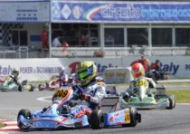 drivers aiming at victory the wsk master series are fewer after the first heats on the circuit of sarno italy