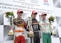 the european cik fia kz and kz2 championship concludes wackersdorf d its first round with the victories of verstappen crg tm kz and negro dr tm kz2