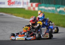 crg and max verstappen win friuli italy and are now very close to the kz2 wsk master series title