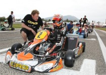 crg with max verstappen friuli northern italy to confirm his kz2 leadership the wsk master series