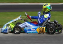 iame two victories and title at the wsk master series