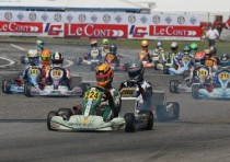spectacular finals sarno s first round of the italian csai karting championship