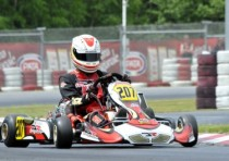 jorrit pex crg tm kz and riccardo negro dr tm kz2 are pole position at the cik fia kz and kz2 european championship wackersdorf d