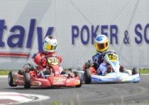 after the round of precenicco udine italy the wsk master series is at its final round with verstappen nl crg tm kz2 boccolacci f energy tm kfj lorandi tony kart parilla kfj and martinez hero lke k60 mini leading their categories