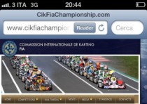 the new website is the reference point the internet for all the events of the cik fia world and european championships www cikfiachampionship com is active