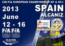 the cik fia kf and kf junior european championship from k12th to k16th june on the motorland aragon circuit alcaniz spain