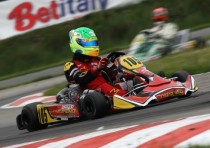 maranello kart and marco zanchetta are the runner ups of the kz2 category the wsk euro series but what great finale