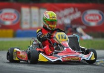 maranello kart putting very good performance the wsk master series with bernardotto and bellanca