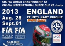 the pfi circuit of brandon uk will host the cik fia world kf championship and the cik fia international kfj super cup from k28th august to k1st september