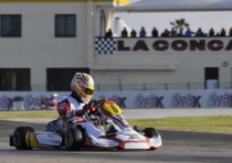 the winners of the wsk champions cup of conca are lorandi tony kart tm kf hanley gb artgp tm kz2 ahmed gb fa kart vortex kfj and fusco lenzo kart lke the k60 mini
