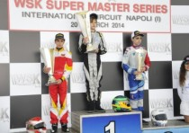 first round at sarno of the wsk super master series