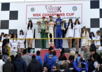 the final wsk champions cup round muro leccese the victory goes to pex nl crg tm kz2 basz pl tony vortex kf fewtrell gb fa kart vortex kf junior and gafar mal hero lke k60mini