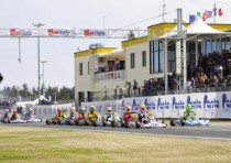 the wsk super master series ends conca next sunday k27th april over k200 drivers on track the four categories all the finals live streaming on www wsk it
