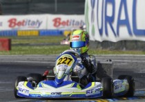 surprising results on the k7 laghi circuit of castelletto branduzzo with the qualifying of the wsk super master series