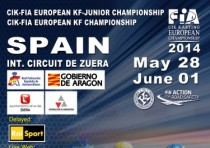 the european cik fia championship kf kfj back on track from k29th may to k1st june
