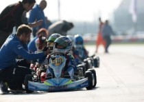 k2014wsk final cup k2 victories and third place for baby race adria was dream weekend