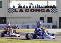 the new wsk karting season starts from conca two great events will be hosted by the facility muro leccese
