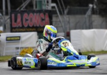 wsk champions cup gave the start to the season k2015 conca