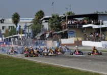 next weekend from k16th to k19th april the international circuit napoli sarno hosts the first out of three rounds of the cik fia european kz kz2 championship