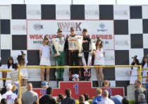 the winners of the wsk master series muro leccese lecce italy are puhakka fin crg maxter kz2 vartanyan rus tony kart vortex kf lundgaard dk tony kart vortex kfj and hauger crg tm k60 mini great expectations for heated last rou