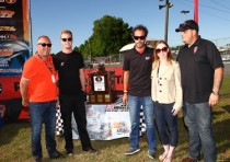 dan wheldon ambassador award continues at the k2016 sofina foods florida winter tour