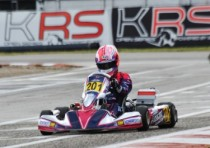 qualifying sarno for the second round of the wsk super master series k2016