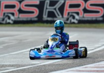 karting sarno kick off for wsk super master series k2016 on tricky track and weather
