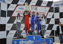 heated finals at the wsk super master series sarno italy at its second round
