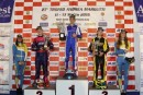 giacomo pollini on crg tm gets the kz2 victory at the k27th andrea margutti trophy