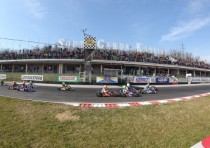 the andrea margutti trophy with k165 drivers from k10 to k13 march at the south garda karting circuit of lonato