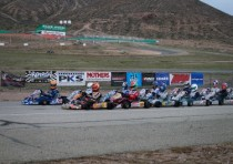 former champions triumph at round two for california prokart challenge