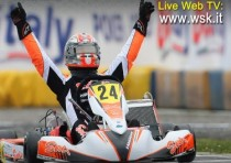 the international circuit napoli of sarno hosts the second round of the wsk super master series k2016