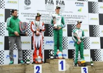 the first round of the cik fia european championship essay f awards ardigo kz and corberi kz2 both on tony kart vortex